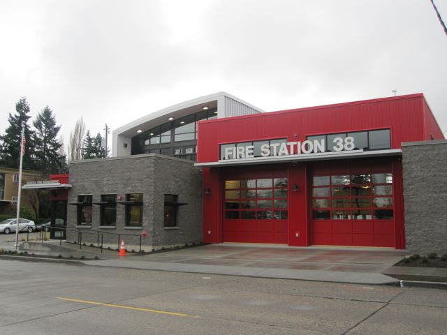a photo tour of the new fire station 38