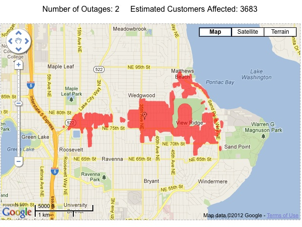 Two Blown Transformers Heard To Be Blamed For Ne Seattle Power