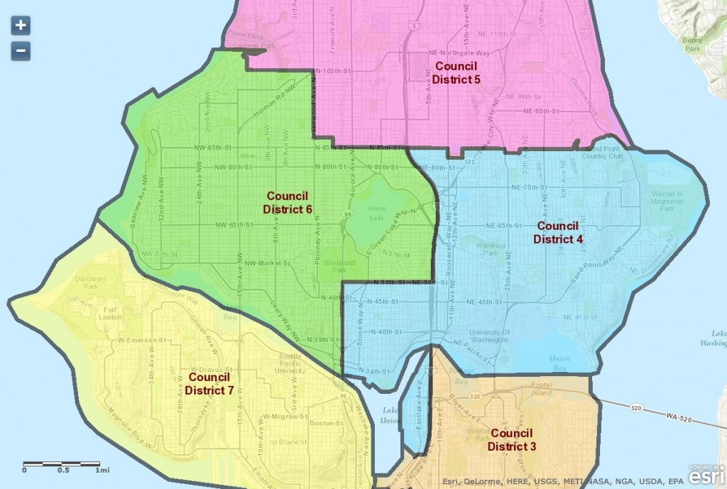 Welcome to the 2015 Seattle City Council District Games UPDATE