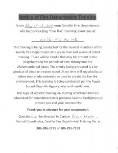 SFD_Training_Notice